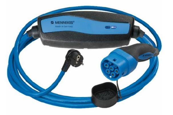 Ladekabel Typ 2 Schuko / Schutzkontakt / Haushalt Adapter Stecker ESL E-MOBILITY shop