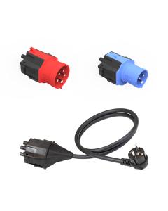 NRGkick  charger CEE Kabel Adapter   Steckeraufsatz Set Standard (EU)