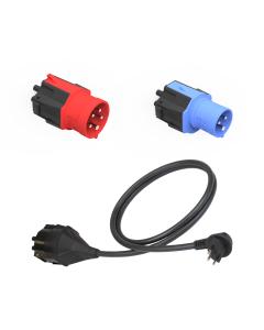 NRGkick  CEE Kabel  Adapter  Schuko Stecker Steckeraufsatz Typ J 8A (CH)