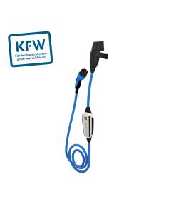 NRGkick 32 | 12501008 | Mobile Wallbox / Ladestation Elektroauto | Mode 2 Ladekabel | Typ 2 auf CEE rot Stecker | 22kW | 32A | 400V | 3 phasig | 5 m | KfW Select mit WLAN, Bluetooth | inklusive: NRGkick Wandsteckdose und Schutzverriegelung