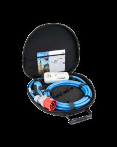 NRGkick Taschen-Set 16A Light | 20265 | Mobile Wallbox / Ladestation Elektroauto | Mode 2 Ladekabel | Typ 2 auf CEE rot Stecker | 11kW | 16A | 3 phasig | 400V | 5 m