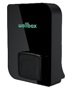 "Wallbox ""Copper SB"" | Typ 2 Ladesteckdose | 22kW | RFID, FI | Gehäuse: schwarz"