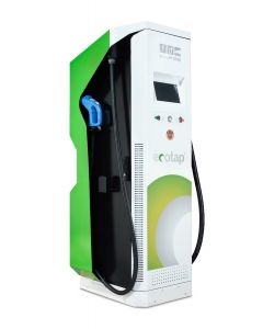 Ecotap DC120 electric car wallbox DC charger CCS CHAdeMO Typ 2 120 kW 500V