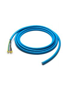 Walli 3G6+1x0,5 | EV Ladekabel Elektroauto Meterware | lose ( ohne Stecker ) | 7,4 kW | 32A | 230V | 1 phasig | blau