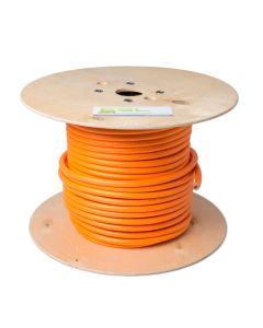 Walli 3G6+1x0,5 | EV Ladekabel Elektroauto Meterware | lose ( ohne Stecker ) | 7,4 kW | 32A | 230V | 1 phasig | orange