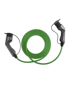 Walli BG electric car charging cable EV mode 3 type 2 to type 2 11kW 16A 400V 3 phase individual length black