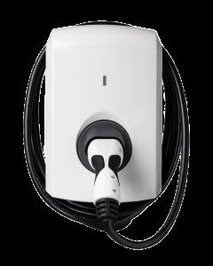 Alfen Eve Single S-Line 904460587 - 203100304-ICU  Elektroauto Ladestation Wallbox mit 8m Ladekabel Typ 2 16A 11kW | 3-phasig MID Energiezähler, RFID 11kW 16A 3 phasig 400V RFID, DC-Fehlerstromschutz, MID-Energiezähler