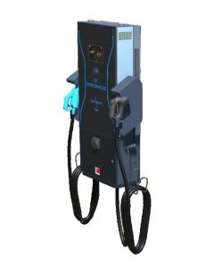 IES Synergy Keywatt Dual DC24| electric car wallbox DC charger CCS type 2 CHAdeMO| 24kW | 65A | 530V