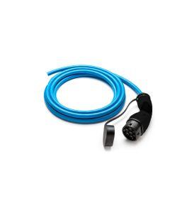 Walli Typ 2 Ladekabel Elektroauto | ein Ende offen, Wallbox Anschluss (Stecker Bals) | 22kW | 32A | 400V | 3 phasig | blau