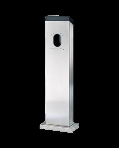 MENNEKES 18566 Elektroauto Ladezubehör Wallbox Befestigung Standfuß Standsäule Edelstahlsäule für 2 Amtron Wallboxen