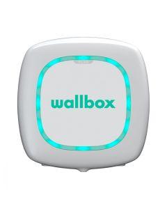 Wallbox Pulsar Plus | Typ 2 Wallbox Ladestation Elektroauto mit Kabel | 22 kW | 32A | 400V | 3 phasig | 7 Meter | weiß | DC Personenschutz | Energiezähler | App