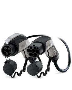 Phoenix Contact 1628023 Typ 1 Ladekabel Elektroauto Mode 3 Adapter Typ 1 auf Typ 2 Stecker 7,4 kW 32A 230V 1 phasig 5 m