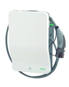"Schneider ""EVH2S22P0CK"" | Wallbox | EV charging station electric car | type 2 car charger | 22 kW | 32A | 400V | 3 - phase | 4m"