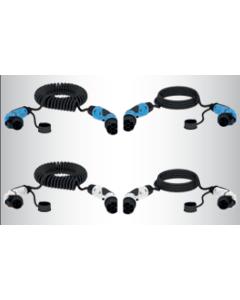 Verschiedene Ladekabel für Ihr Elektroauto
