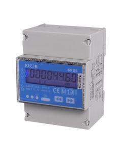 Vestel Energiezähler KL6934 10126454 | Elektroauto Zubehör Elektroinstallation MID Energiezähler Drei-Phasen-Energiemessgerät
