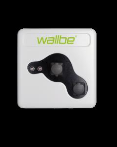 Wallbe Pro Plus | 2 x 22kW Ladesteckdose Typ 2 | Wallbox / Ladestation Elektroauto | 2 x 32A | 400V | 3 phasig | Personenschutz, Energiezähler
