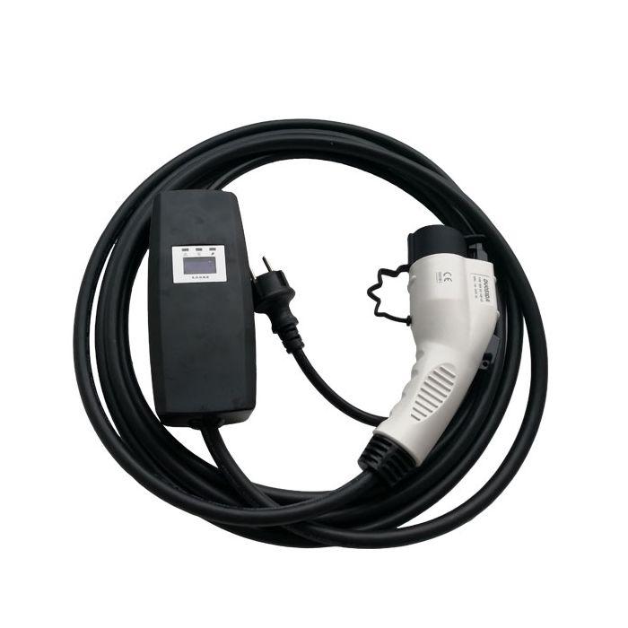 Elektrokabel für Elektrofahrzeuge Hyundai Ioniq,16 Ah,Schuko-Stecker TYP 2