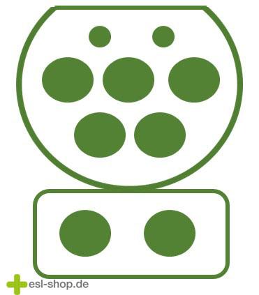 Typ 3 Stecker